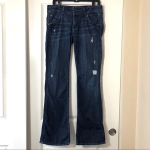 HUDSON JEANS, Distressed Size 30